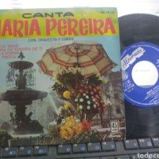 Discos de vinilo: MARÍA PEREIRA EP FADISTA NOVO + 3 ESPAÑA 1962 EN PERFECTO ESTADO. Lote 276271408