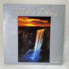 Discos de vinilo: LP - VINILO MODERN TALKING - IN THE GARDEN OF VENUS - THE 6TH ALBUM - ESPAÑA - AÑO 1987. Lote 276283798