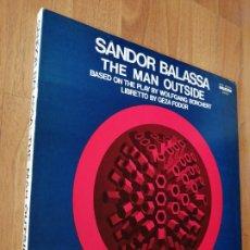 Discos de vinil: ALBUM 2 VINILOS SANDOR BALASSA, THE MAN OUTSIDE, STEREO. Lote 276286008