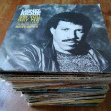 Discos de vinilo: LOTE DE 80 DISCOS DE 7 PULGADAS (SINGLE). Lote 276296283