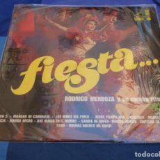 Discos de vinilo: LP BUEN ESTADO GENERAL RODRIGO MENDOZA Y SU CONJUNTO RITMICO FIESTA. Lote 276316933