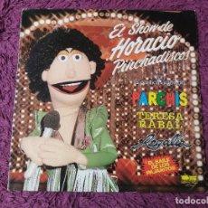 Disques de vinyle: EL SHOW DE HORACIO PINCHADISCOS VINYL LP 1981 SPAIN PARCHIS REGALIZ.... Lote 276317393