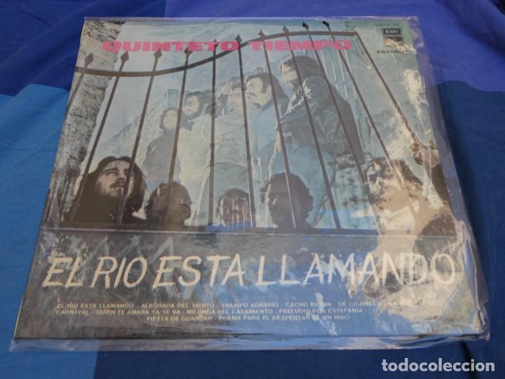 LP GRAN ESTADO GENERAL QUINTETO TIEMPO EL RIO ESTA LLAMANDO 1974 (Música - Discos - Singles Vinilo - Rock & Roll)