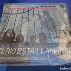 Discos de vinilo: LP GRAN ESTADO GENERAL QUINTETO TIEMPO EL RIO ESTA LLAMANDO 1974. Lote 276317938