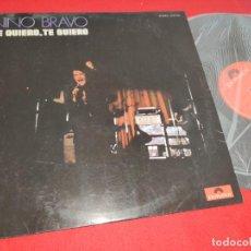 Discos de vinilo: NINO BRAVO TE QUIERO TE QUIERO LP 1970 POLYDOR VINILO. Lote 276373493