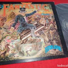 Discos de vinilo: ELTON JOHN AND THE BROWN DIRT COWBOY CAPTAIN FANTASTIC LP 1975 MCA EDICION AMERICANA USA GATEFOLD. Lote 276374278