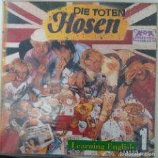 """Disques de vinyle: LP DIE TOTEN HOSEN """"LEARNING ENGLISH 1 LESSON"""". Lote 276374568"""