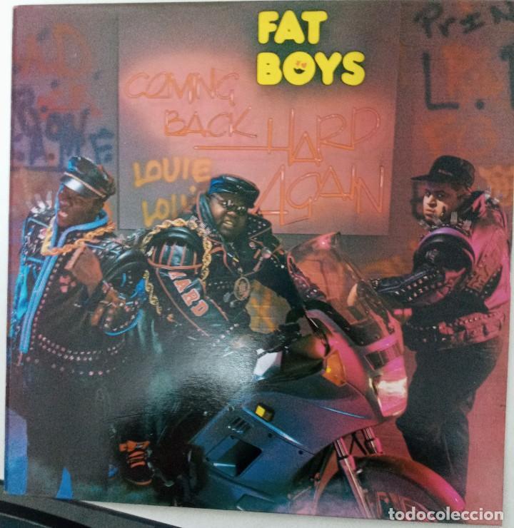 """LP FAT BOYS """"LOUIE, LOUIE"""" (Música - Discos - LP Vinilo - Rap / Hip Hop)"""