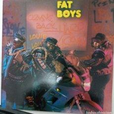"""Discos de vinilo: LP FAT BOYS """"LOUIE, LOUIE"""". Lote 276374773"""