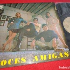 Discos de vinilo: VOCES AMIGAS LP 1970 NOVOLA EXCELENTE ESTADO. Lote 276375098
