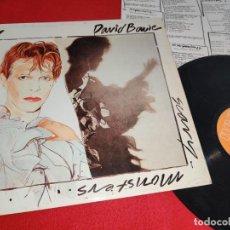 Discos de vinilo: DAVID BOWIE SCARY MONSTERS LP 1980 RCA VICTOR ESPAÑA SPAIN. Lote 276377233