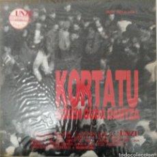 """Disques de vinyle: LP KORTATU """"AZKEN GUDA DANTZA"""" (2 LP´S). Lote 276378738"""