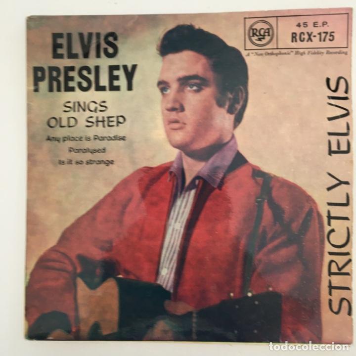 ELVIS PRESLEY – STRICTLY ELVIS, UK 1969 RCA VICTOR (Música - Discos de Vinilo - EPs - Rock & Roll)