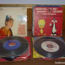 Disques de vinyle: 33 SINGLES VARIADOS.. Lote 276389713