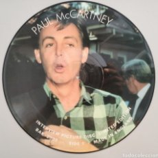 Discos de vinilo: PAUL MCCARTNEY - INTERWIEW PICTURE DISC - LP. Lote 276411518