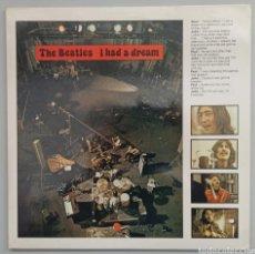 Discos de vinilo: BEATLES - I HAD A DREAM - LP. Lote 276412713