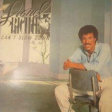"""Discos de vinilo: VINILO LP LIONEL RICHIE """" CAN""""T SLOW DOWN """". Lote 276413013"""