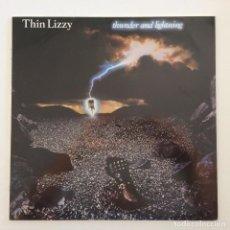 Discos de vinilo: THIN LIZZY – THUNDER AND LIGHTNING GERMANY.1983 VERTIGO. Lote 276420138