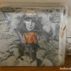 Discos de vinilo: DISCO 7 PULGADAS SINGLE PAUL SIMON MOTHER AND CHILD REUNION. Lote 276425273