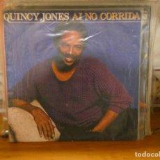 Discos de vinilo: DISCO 7 PULGADAS QUINCY JONES AI NO CORRIDA BUEN ESTADO GENERAL. Lote 276425318