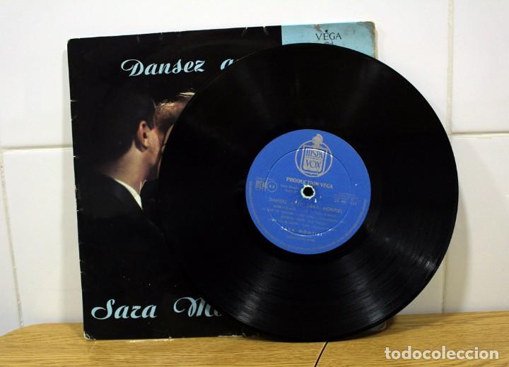 """Discos de vinilo: SARA MONTIEL, DANSEZ AVEC - CHANTE 8 SUCCES DE TOUJOURS LP 33"""" DE COLECCIÓN!! - Foto 3 - 276442468"""