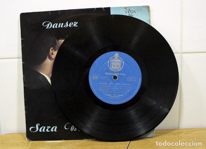 """Discos de vinilo: SARA MONTIEL, DANSEZ AVEC - CHANTE 8 SUCCES DE TOUJOURS LP 33"""" DE COLECCIÓN!! - Foto 5 - 276442468"""