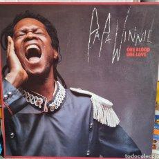 Discos de vinilo: LP - PAPA WINNIE - ONE BLOOD ONE LOVE - 1990. Lote 276447588