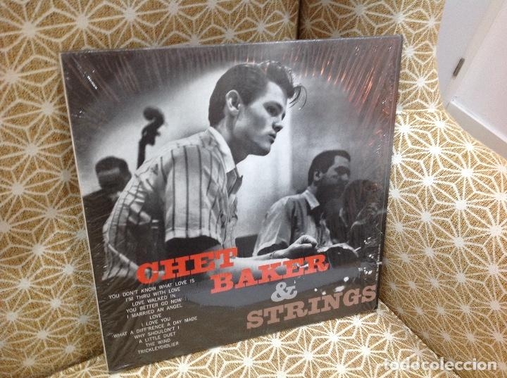 CHET BAKER CHET BAKER & STRINGS LP . JAZZ ZOOT SIMS RUSS FREEMAN BUD SHANK (Música - Discos - LP Vinilo - Jazz, Jazz-Rock, Blues y R&B)