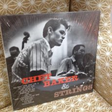 Discos de vinilo: CHET BAKER CHET BAKER & STRINGS LP . JAZZ ZOOT SIMS RUSS FREEMAN BUD SHANK. Lote 276448683
