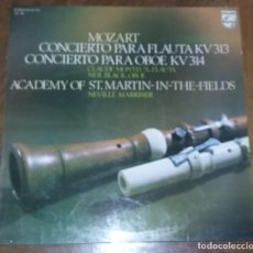 Disques de vinyle: MOZART. CONCIERTO PARA FLAUTA. PEDIDO MINIMO 3 EUROS.. Lote 276449338