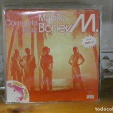 Discos de vinilo: DISCO 7 PULGADAS SINGLE ESPAÑOL BUEN ESTADO GENERAL BONEY M MALAIKA. Lote 276450498