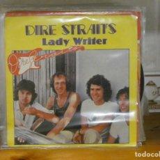 Dischi in vinile: DISCO 7 PULGADAS SINGLE ESPAÑOL DIRE STRAITS LADY WRITER 1979 BUEN ESTADO. Lote 276451633