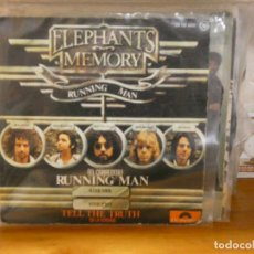 Dischi in vinile: DISCO 7 PULGADAS SINGLE ESPAÑOL BUEN ESTADO ELEPHANTS MEMORY RUNNING MAN. Lote 276452063