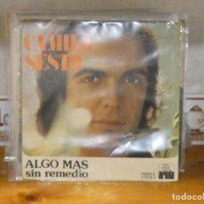 Discos de vinilo: DISCO 7 PULGADAS SINGLE CAMILO SESTO ALGO MAS BUEN ESTADO GENERAL. Lote 276455403