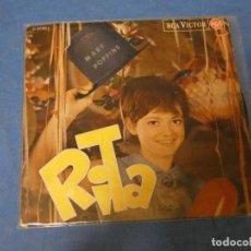 Discos de vinilo: DISCO 7 PULGADAS RITA PAVONE EP STASERA WITH ME CORRECTO 1965. Lote 276457703