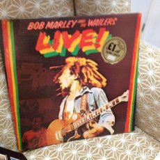 Discos de vinilo: BOB MARLEY AND THE WAILERS - LIVE AT THE LYCEUM - UK - ISLAND RECORDS - REF ILPS 9376 -. Lote 276457728