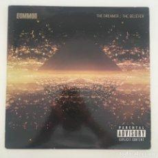 Discos de vinilo: COMMON – THE DREAMER / THE BELIEVER, UNOFFICIAL, CLEAR, US 2012. Lote 276457923