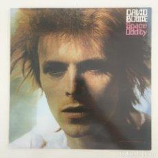 Discos de vinilo: DAVID BOWIE – SPACE ODDITY, UNOFFICIAL, RED, UK 2014 RCA. Lote 276462758