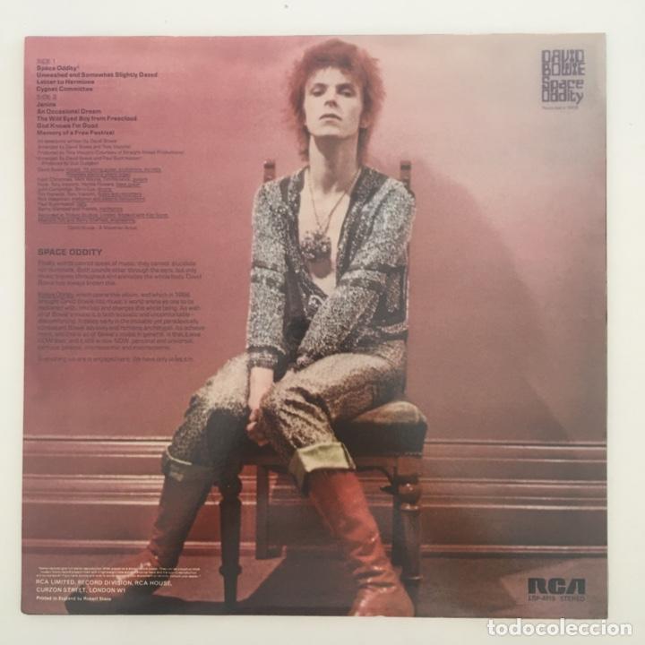 Discos de vinilo: David Bowie – Space Oddity, Unofficial, Red, UK 2014 RCA - Foto 2 - 276462758
