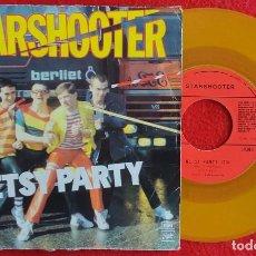 "Disques de vinyle: STARSHOOTER - BETSY PARTY 7"" 1978 ED ESPECIAL VINILO COLOR PUNK ROCK - KBD. Lote 276463983"