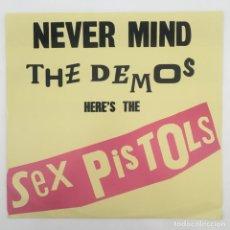 Discos de vinilo: SEX PISTOLS – NEVER MIND THE DEMOS HERE'S THE SEX PISTOLS, UNOFFICIAL, 2014. Lote 276464188