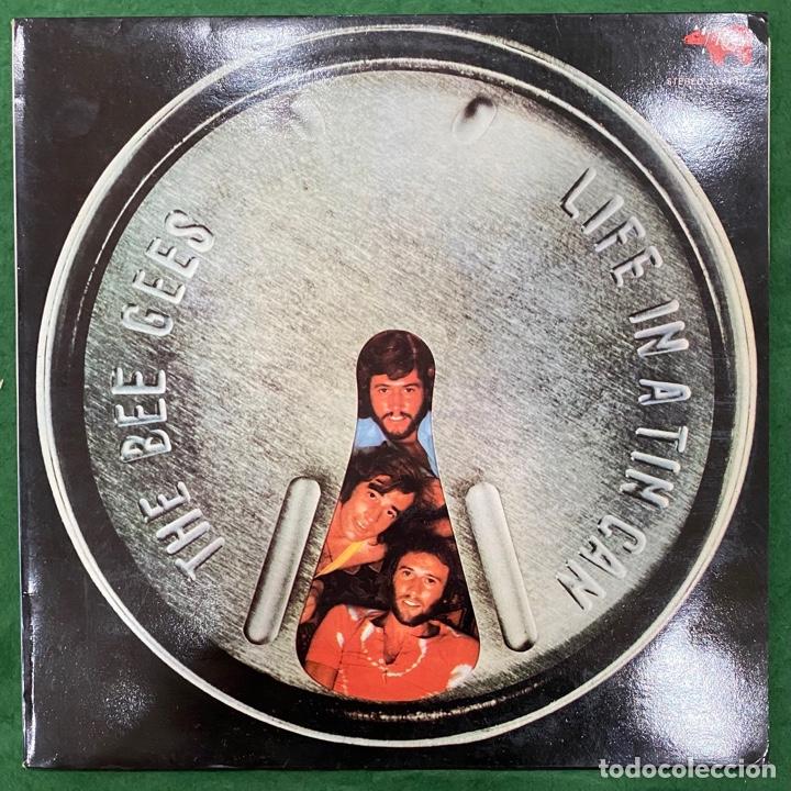 THE BEE GEES -LIFE IN A TIN CAN / LP RSO DE 1973 RF-9908 (Música - Discos - LP Vinilo - Pop - Rock - Internacional de los 70)