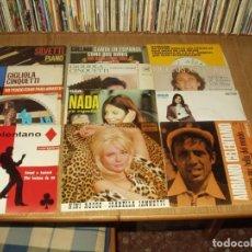 Discos de vinilo: LOTE 25 EP'S Y SINGLES SOLISTAS ITALIANOS 60/70. Lote 276471808