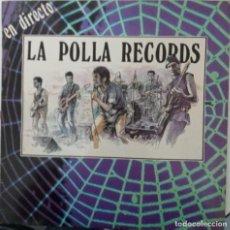 """Discos de vinil: LP LA POLLA """"EN DIRECTO"""". Lote 276472818"""