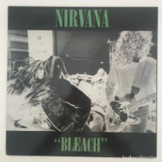 Discos de vinilo: NIRVANA – BLEACH, UNOFFICIAL, GREEN, AUSTRALIA 2013 WATERFRONT RECORDS. Lote 276473228