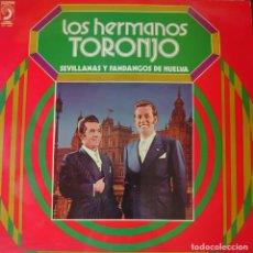 Discos de vinilo: LOS HERMANOS TORONJO LP SELLO DISCOPHON EDITADO EN ESPAÑA AÑO 1973.... Lote 276473523
