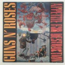 Discos de vinilo: GUNS N' ROSES – APPETITE FOR DESTRUCTION, UNOFFICIAL, GOLD, EUROPE GEFFEN RECORDS. Lote 276475088