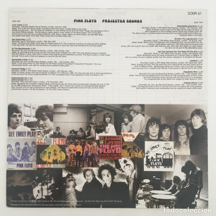 Discos de vinilo: Pink Floyd – Projected Sounds, Unofficial, Red, 2008 Europe Sodium Haze Records - Foto 2 - 276478213