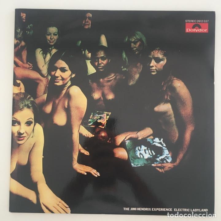 THE JIMI HENDRIX EXPERIENCE – ELECTRIC LADYLAND, 2 LPS, UNOFFICIAL, BLUE, UK POLYDOR (Música - Discos - LP Vinilo - Pop - Rock - Internacional de los 70)