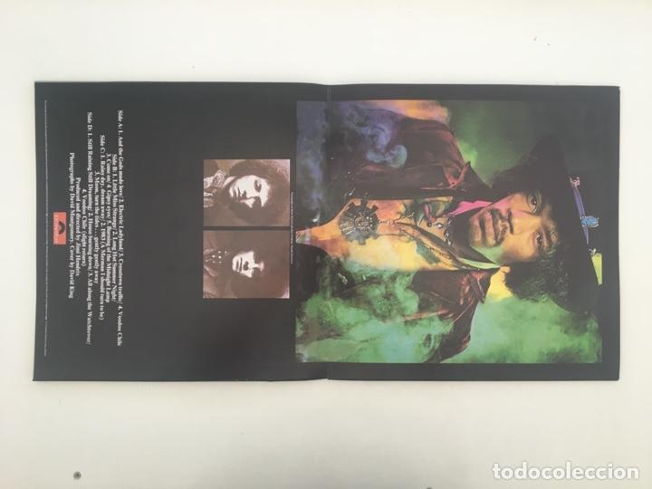 Discos de vinilo: The Jimi Hendrix Experience – Electric Ladyland, 2 LPs, Unofficial, Blue, UK Polydor - Foto 3 - 276479393